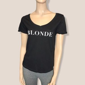 TBH Small Blonde Short Roll Up Sleeve T-Shirt